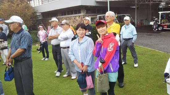 第11回関西鹿児島県人会総連合会ゴルフコンペ様子2